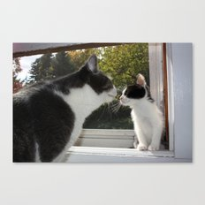 Tiniest Comes Home Canvas Print