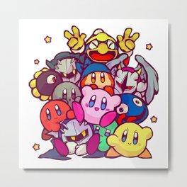 Kirby kirby group Metal Print