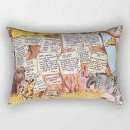 lonely club Rectangular Pillow