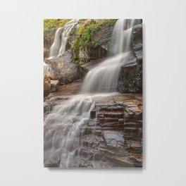 Shelving Rock Falls Metal Print