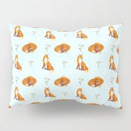 Fox Pattern Pillow Sham