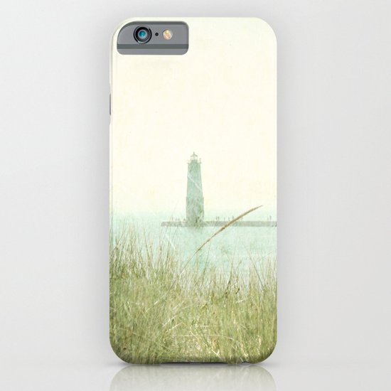 Two Boats and a Lighthouse iPhone & iPod Case