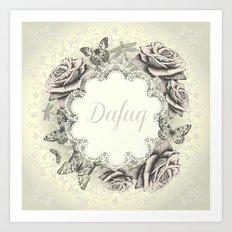 Dafuq Art Print
