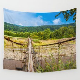 suspension bridge Wall Tapestry