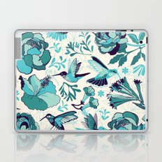 Hummingbird summerdance, Blue Laptop & iPad Skin