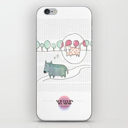 LOVE IN OUR OPINION - ALWAYS ON MY MIND iPhone Skin