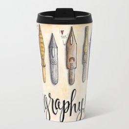 calligraphy nibs Travel Mug