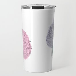 Tattooed Mermaid Travel Mug