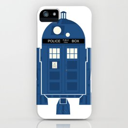 R2-TARDIS iPhone Case