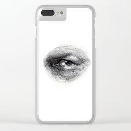 Eye Study Sketch 4 Clear iPhone Case
