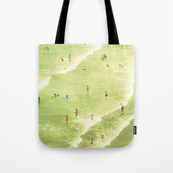 Let's Go Swimming Tote Bag