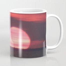Sundown at Aboiteau Beach Coffee Mug