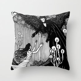 Angel of Music Throw Pillow