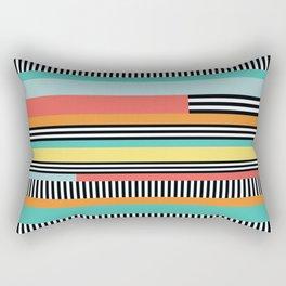 Striped One Rectangular Pillow