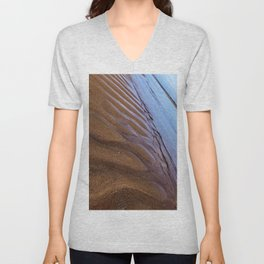 Creeping Tropical Waters  Unisex V-Neck