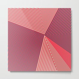 Geometric Design No1 Metal Print