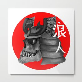 Ronin Samurai Metal Print
