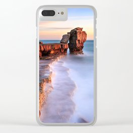 Dreamy sunset Clear iPhone Case