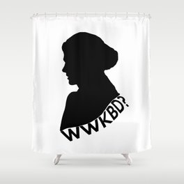 What Would Kate Beckett Do? Shower Curtain
