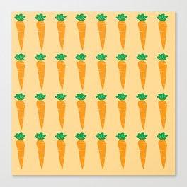carrots pattern Canvas Print