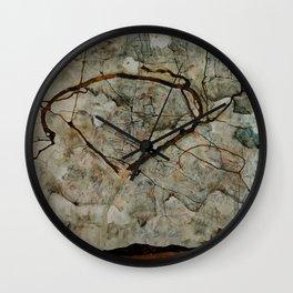 "Egon Schiele ""Autumn Tree in Stirred Air (Winter Tree)"" Wall Clock"
