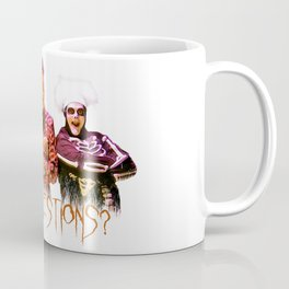David S. Pumpkins - Any Questions? Coffee Mug