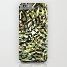 Tropical leaf and geometric Slim Case iPhone 6s