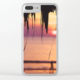 End of the day Clear iPhone Case