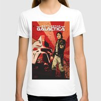 battlestar galactica T-shirts featuring Battlestar Galactica by Storm Media