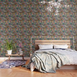 Moorish Doors Montage Wallpaper