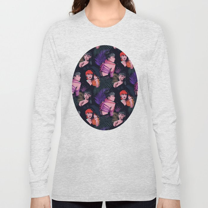 Grimes repeat Long Sleeve T-shirt