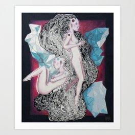Bipolar Disorder Art Print