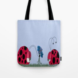 Flowers For My Love Tote Bag