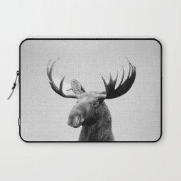 Moose - Black & White Laptop Sleeve
