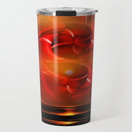 Abstract perfection - Sunst Travel Mug