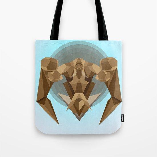 Chocolate Robot Tote Bag