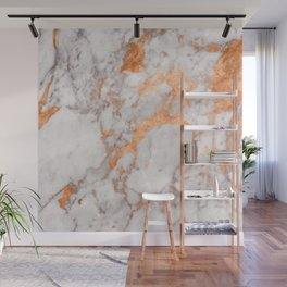 Copper Marble Wall Mural