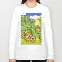 lions Long Sleeve T-shirts featuring Little Lions. by Digi Treats 2