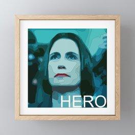Hero: Fiona Hill American Diplomat Framed Mini Art Print