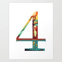 NeueFable 4 Art Print
