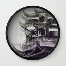 Charcoal Tradition Wall Clock