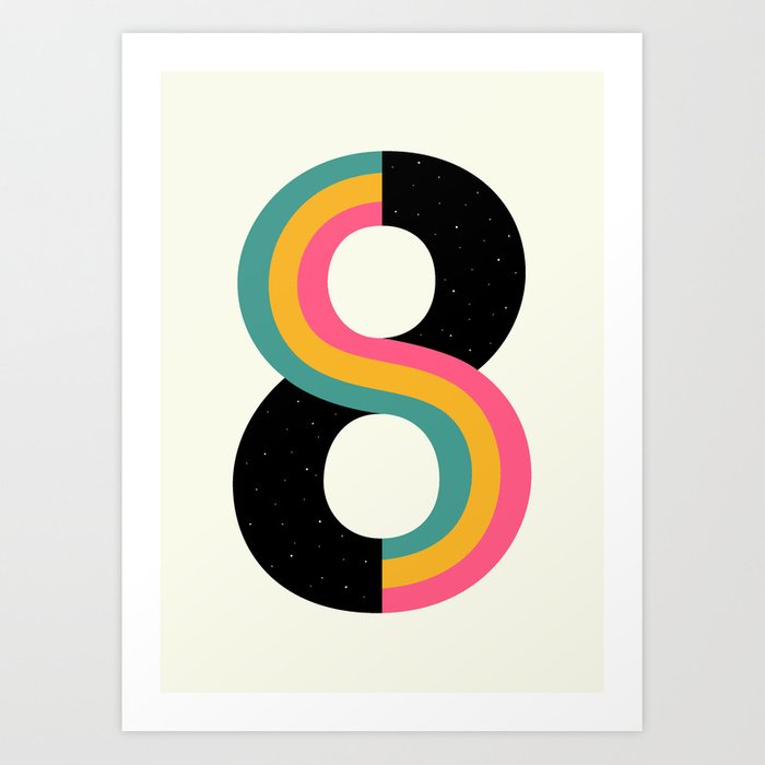 Découvrez le motif INFINITY par Andy Westface en affiche chez TOPPOSTER