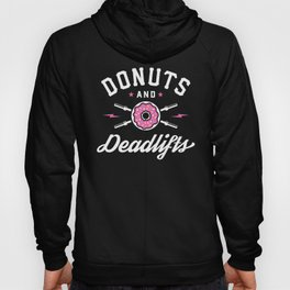 Donuts And Deadlifts Hoody