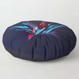 Abstract Sharp Figure Floor Pillow