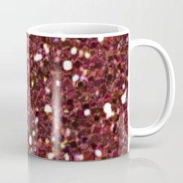 Ruby Red Mermaid Tail Coffee Mug