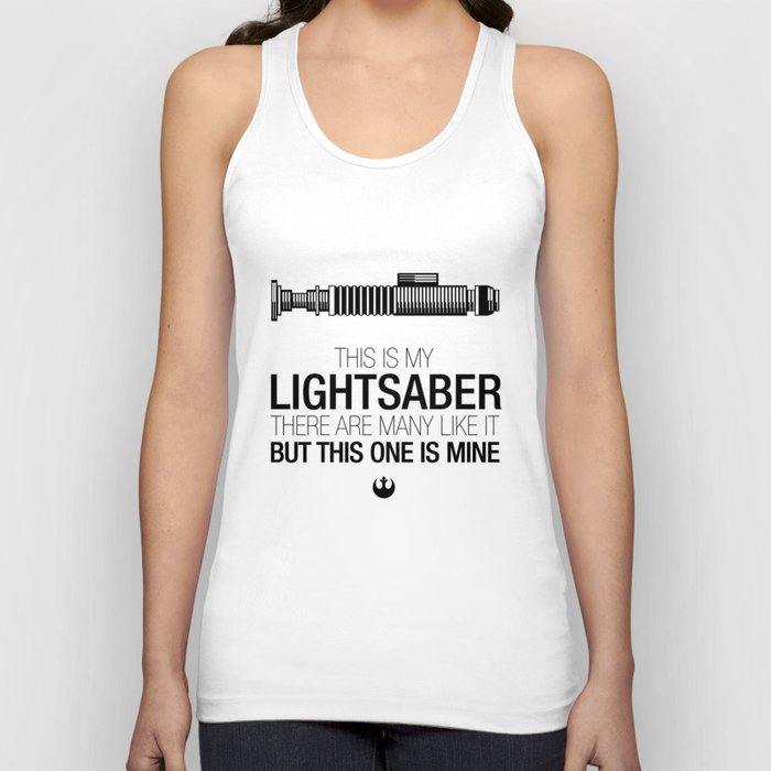 This is my Lightsaber (Luke Version) Unisex Tank Top