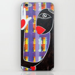 MAMMA AFRICA-CUORE IN MANO iPhone Skin