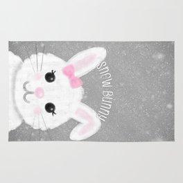 Snow Bunny Rug