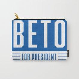 Beto O'Rourke For President Sticker | Beto 2020 | Vote Beto Orourke Carry-All Pouch
