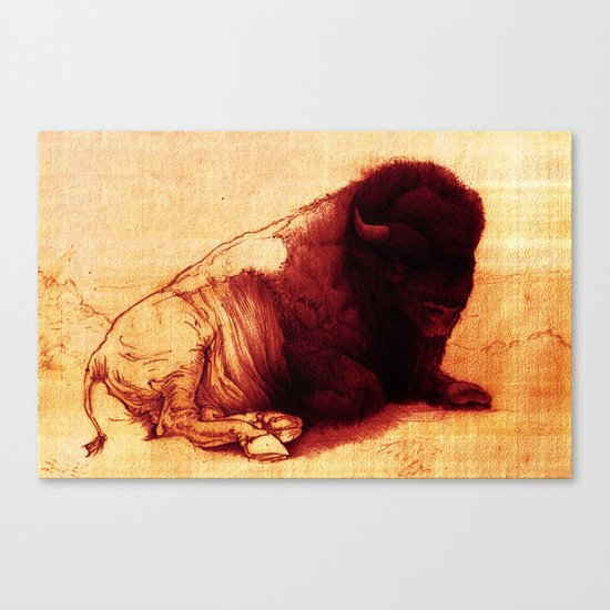 The Resting Of The Force Canvas Print